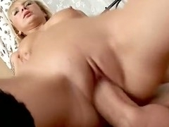 The blond in nylons on your ramrod is one of the most good things in the world. Of course, the sexy hardcore fuck was the solely thing I wanted from this slut.